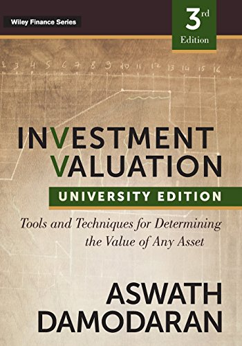 Investment Valuation, Third Edition (Wiley Finance)