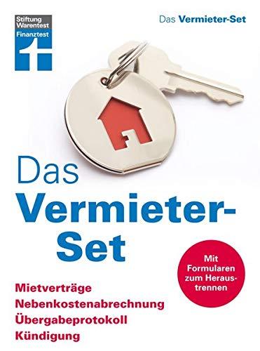 Das Vermieter-Set - Mietverträge, Nebenkostenabrrechnung, Übergabeprotokoll, Kündigung - Ihre Rechte als Vermieter - Alle relevanten Formulare
