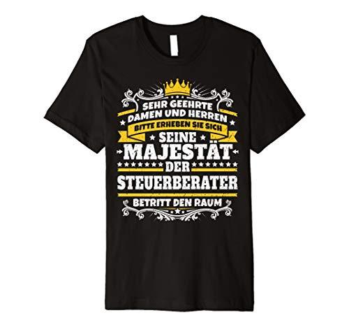 Lustiges Steuerberater Geschenk I Job Kollege Beruf T-Shirt